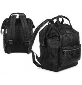 MORO-GRANATOWY plecak TORBA HAROLD'S na laptopa WODOODPORNY T20