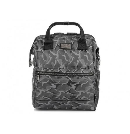 MORO-SZARY plecak TORBA HAROLD'S na laptopa WODOODPORNY T20