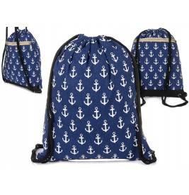 Plecak Plażowy worek A4 na lato Marynistyczny T88