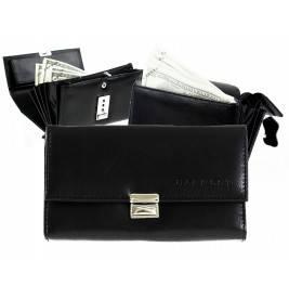 Skórzany Duży damski portfel kelnerski Harold's 003
