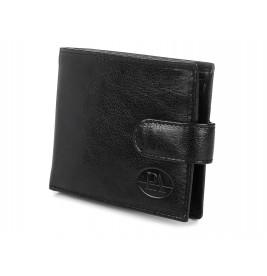 Portfel MĘSKI Elegancki z klamerką skór naturalna pudełko P.A W80
