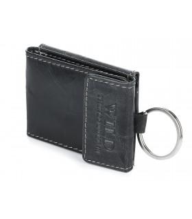 WILD skórzane etui na klucze portfel czarne F63