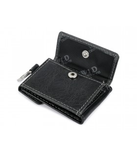 WILD skórzane etui na klucze portfel brązowa F63