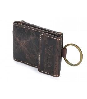 WILD skórzane etui na klucze portfel F63