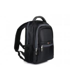 "Profesjonalny plecak na laptopa macbooka 13.3"" samolotowy czarny F74"
