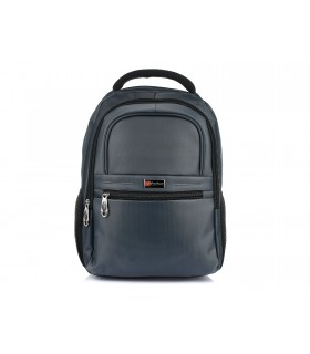 "Profesjonalny plecak na laptopa macbooka 13.3"" samolotowy szary F74"