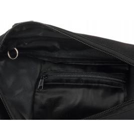Granatowa saszetka sakwa rowerowa torba pod ramę I99