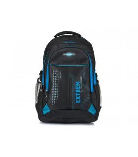 Duży plecak miejski sportowy na laptopa solidny T19