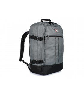 Szary Plecak Podróżny Samolotowy Bagaż podręczny Solidny Q74