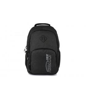 Czarny Bag Street plecak na laptopa wyjazd do pracy duży Q93