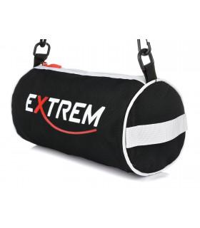 Czerwona torba sportowa EXTREM lekka tuba na ramię pojemna Q97