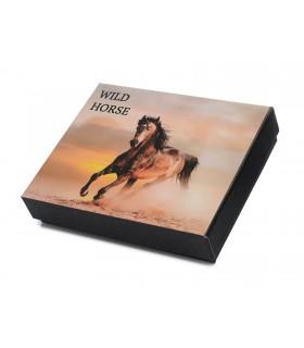 Wild Horse Portfel Skórzany męski Pojemny G71
