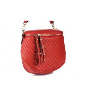 Czerwona saszetka nerka przez ramię plecak torba HIT X74
