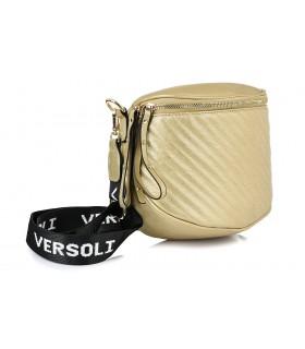 Złota saszetka nerka przez ramię plecak torba HIT X74