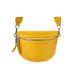 Żółta Saszetka damska HIT na lato przez ramię na pasku modna B33