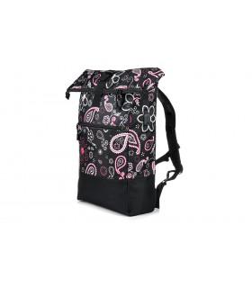 Czarny Plecak Miejski na laptopa Trekkingowy Pojemny Solidny B51