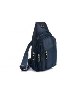 Granatowa Saszetka nerka przez ramię plecak torba modna B57