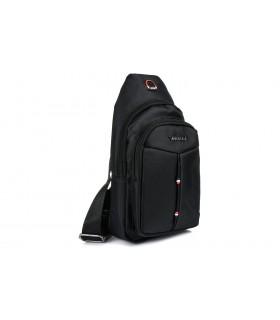 Czarna Saszetka nerka przez ramię plecak torba modna B58
