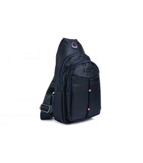 Granatowa Saszetka nerka przez ramię plecak torba modna B58