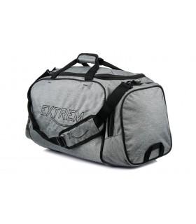 Szara Duża torba podróżna sportowa extrem solidna B72