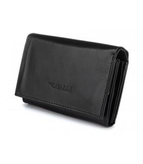 Damski portfel skórzany dowód rej. poziomy pudełko Cavaldi 041