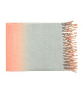 Szalik damski modna chusta ombre frędzle kolory elegancki szal D26
