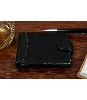 Etui skórzane na dokumenty karty wizytówki Wild Horse z RFiD C85