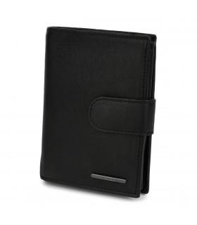 Męski portfel skórzany czarny klasyczny RFiD Beltimore P96
