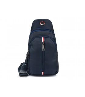 Granatowa Saszetka nerka przez ramię plecak torba modna B54