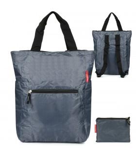 Szary Plecak torba 2w1 wodoodporny lekki duży kompaktowy X48