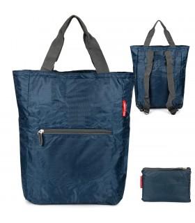 Granatowy Plecak torba 2w1 wodoodporny lekki duży kompaktowy X48