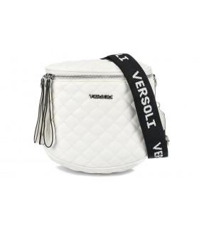 Biała Saszetka nerka przez ramię torba pikowana modna C20