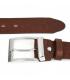 Brązowy Beltimore skórzany pasek do spodni klasyczny licowy W85