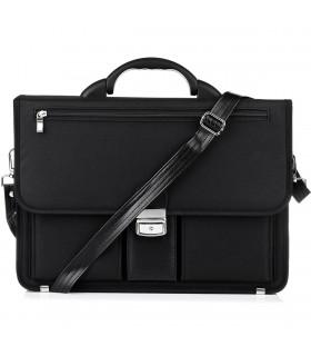 Beltimore luksusowa męska aktówka teczka torba duża na laptopa I37
