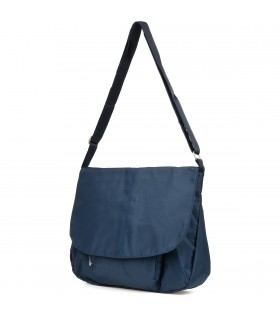 Niebieska damska torebka lekka listonoszka Beltimore A4 J39